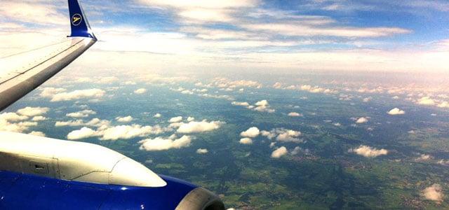 Condor Flugzeug in der Luft