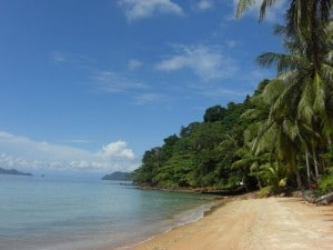 Strand in Thailand Kho Chang