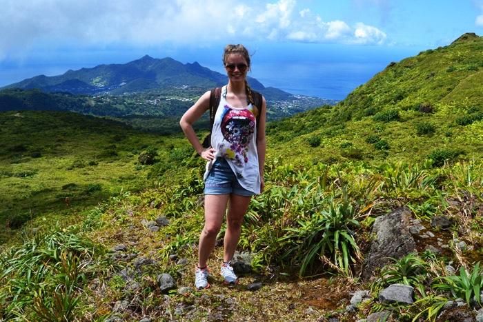 Aufstieg auf den Vulkan La Soufriere in Guadeloupe