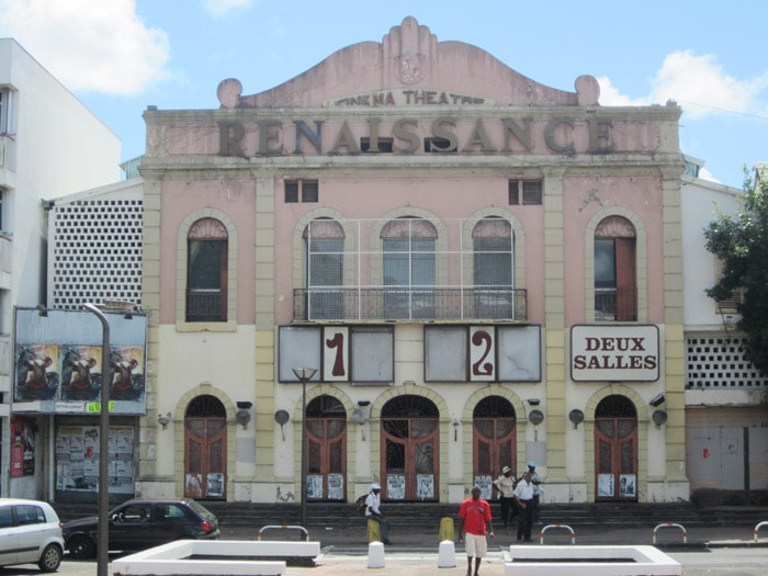 Altes Kino von Pointe-a-pitre