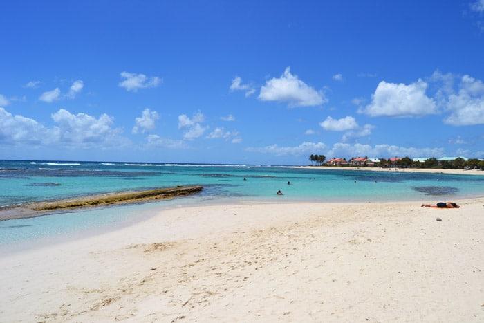 Strand auf Grande-Terre, Guadeloupe