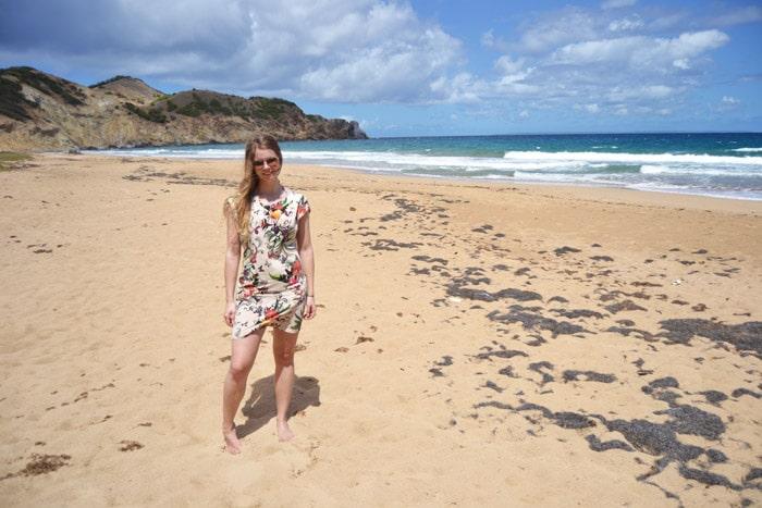 Strand auf den Iles des Saints