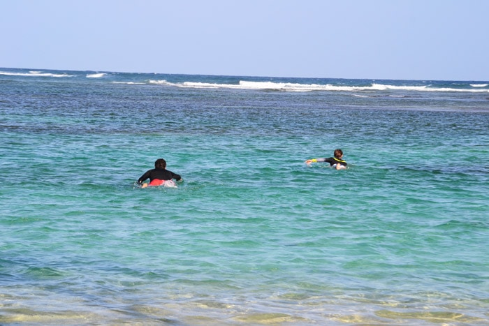 Surfen auf Guadeloupe