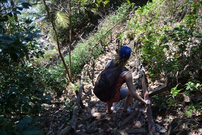 Küstenwanderung zur Grande Pointe auf Guadeloupe