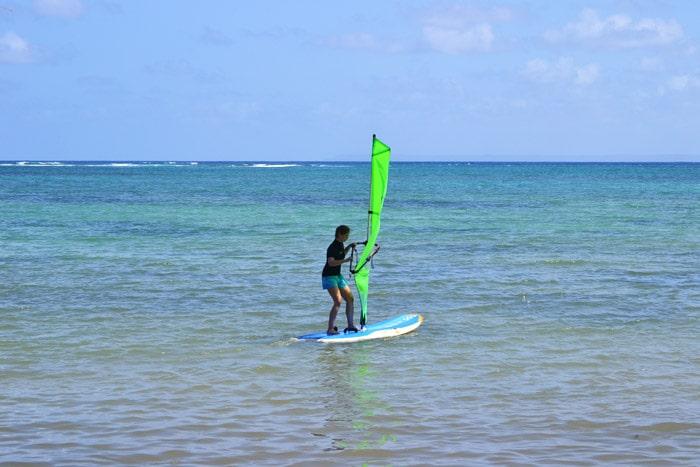 Windsurfen lernen auf Guadeloupe