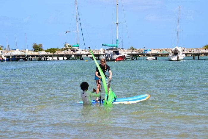 Windsurfkurs auf Guadeloupe