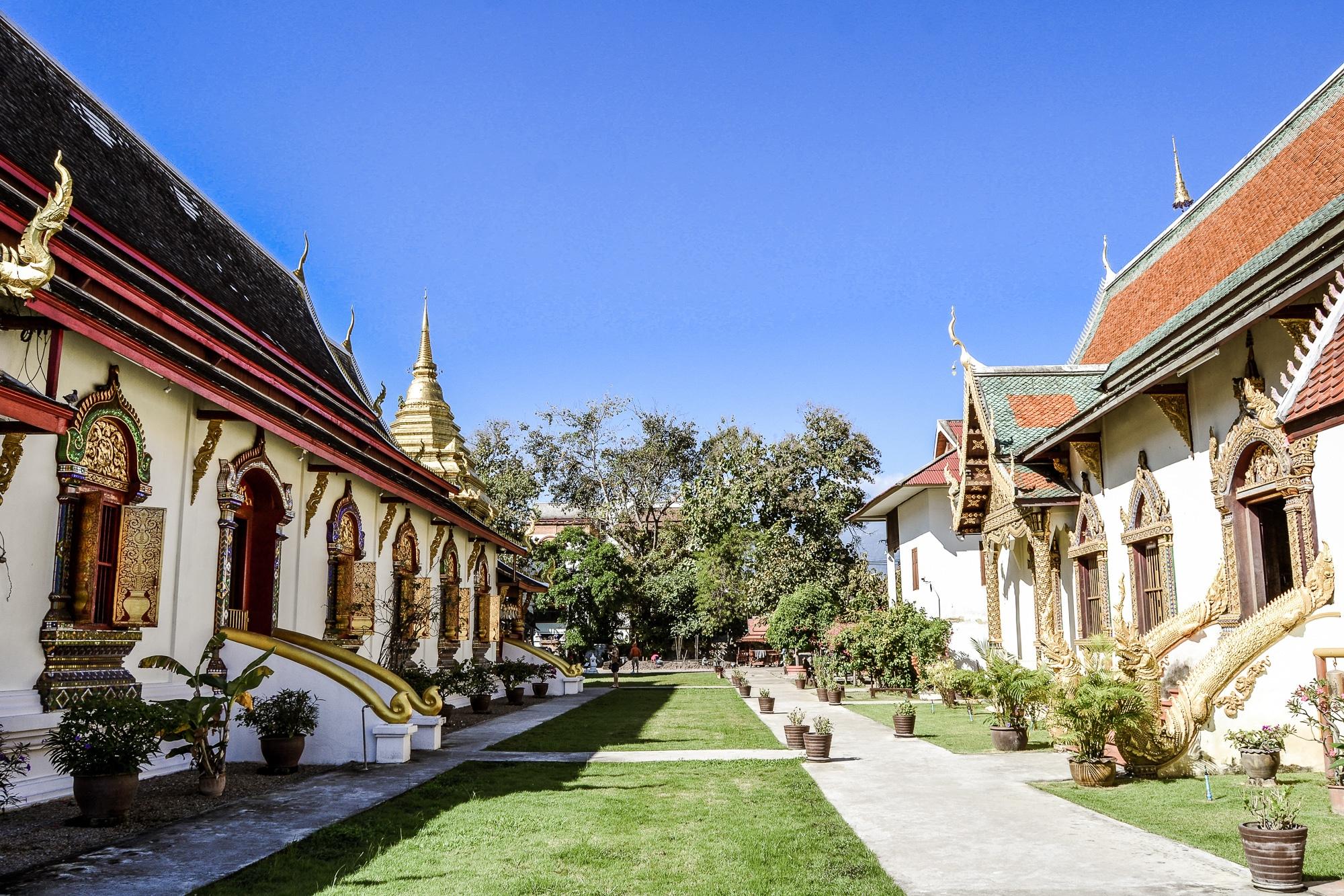 Buddhistischer Tempel in Thailand