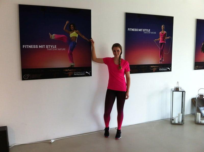 Trendsportarten 2016: Puma Fitness Outfit