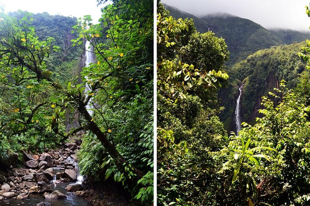Guadeloupe Chutes du Carbet Basse Terre