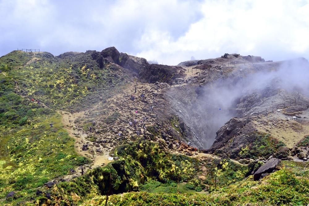 Guadeloupe Vulkanwanderung: Wanderung zum Vulkan La Soufriere