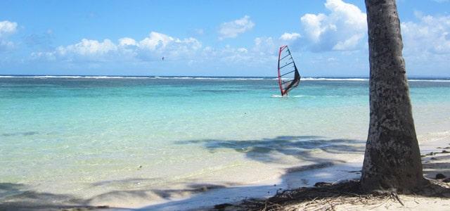 Windsurfen auf Guadeloupe
