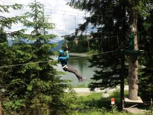 Flying Fox Hornpark St Johann