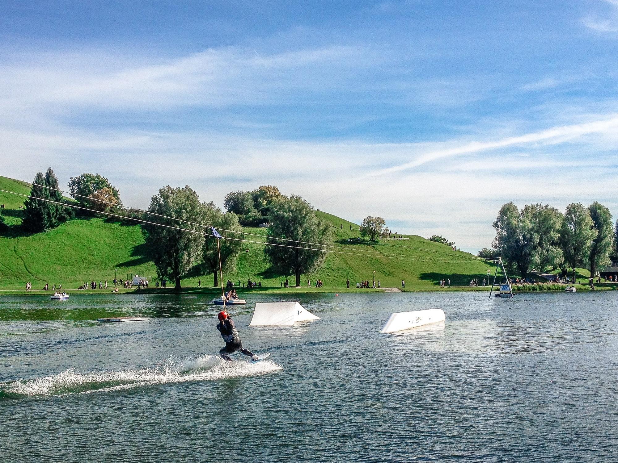 Impark2014 in München Wakeboarden