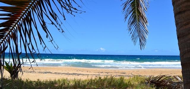 Strand auf den Iles de Saintes, Guadeloupe