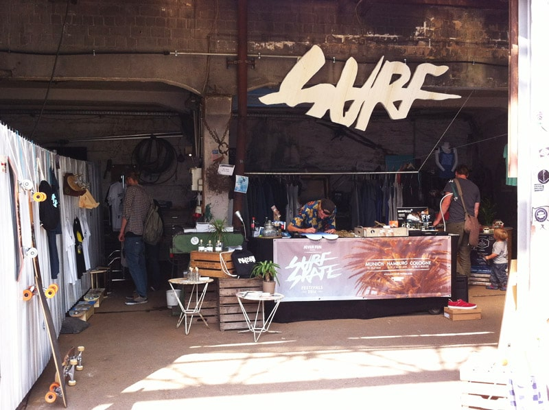 Surf and Skate Festival Köln 2014 Pop Up Store