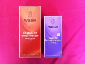 Welede Kastanienbad und Lavendel Entspannungsöl