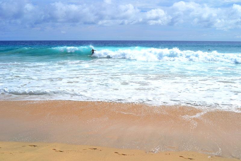Jandia Playa: Surfen am Strand von Morro Jable, Fuerteventura