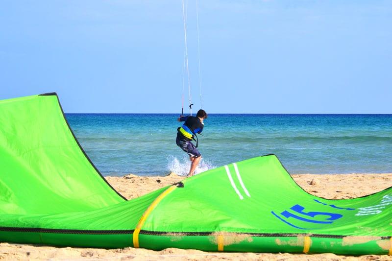 Fuerteventura für Sportler: Kitesurfen