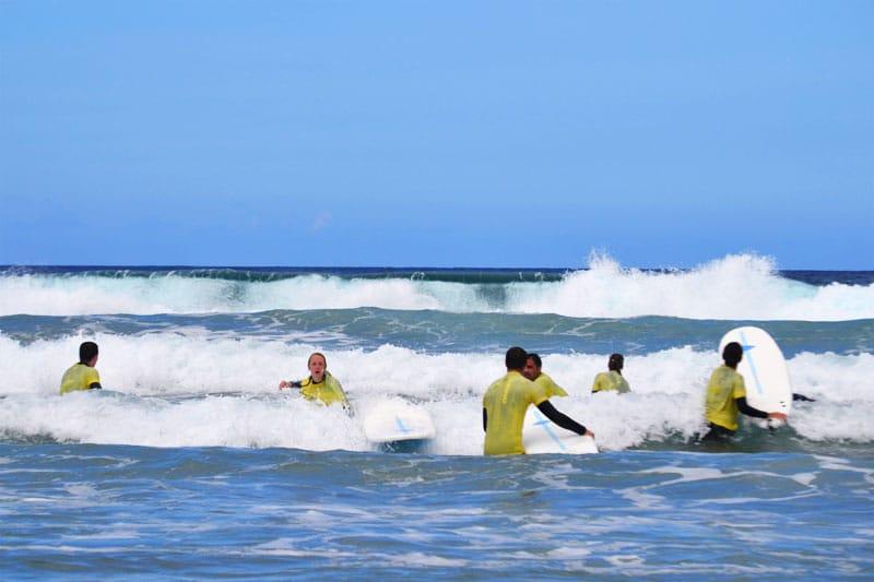Davinga Surf School Surfunterricht auf Fuerteventura
