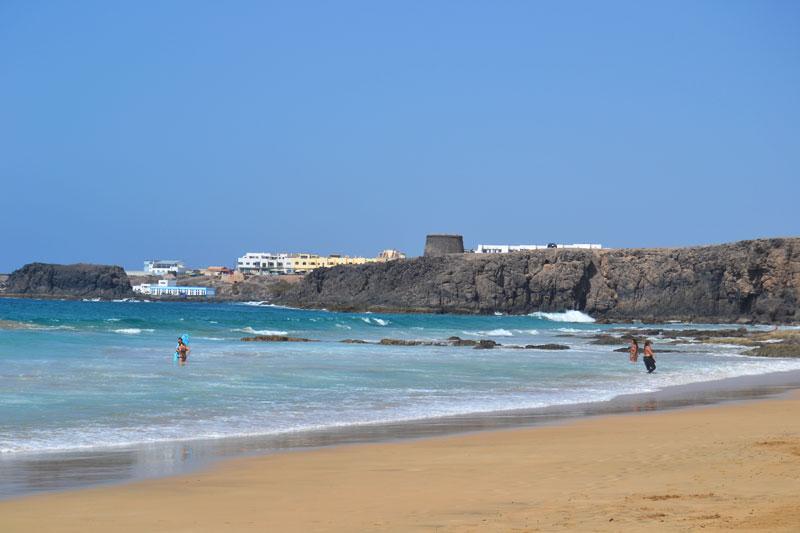Playa del Castillo: Schönster Strand auf Fuerteventura