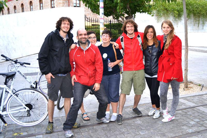 Biketour mit Travelncycle durch Athen