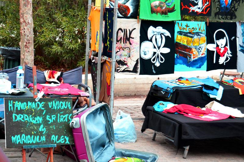 Flohmarkt in Monastiraki, Athen