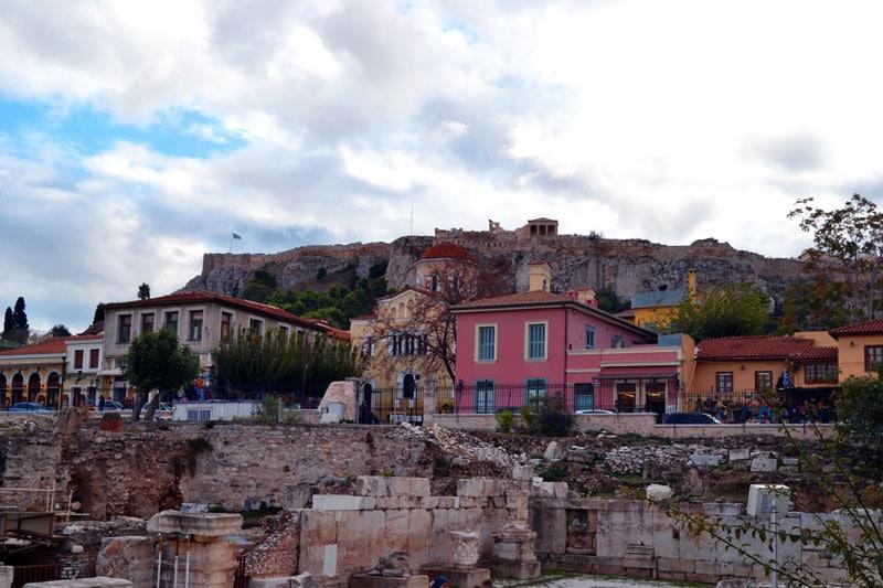 Athen mit dem Fahrrad: Sightseeing in Athen