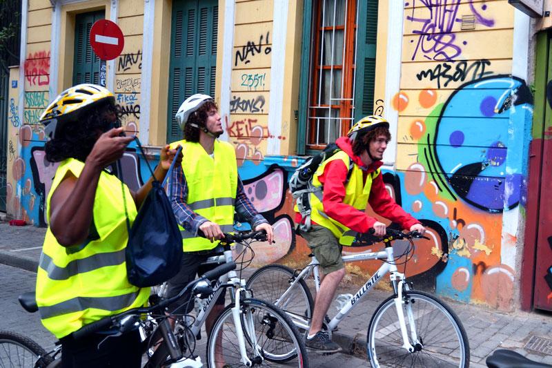 Athen mit dem Fahrrad: Fahrradtour durch Athen mit Travelncycle