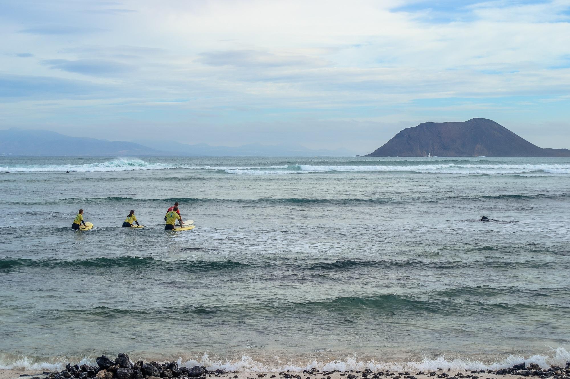 Strand von Morro Fable an der Costa Calma, Fuerteventura