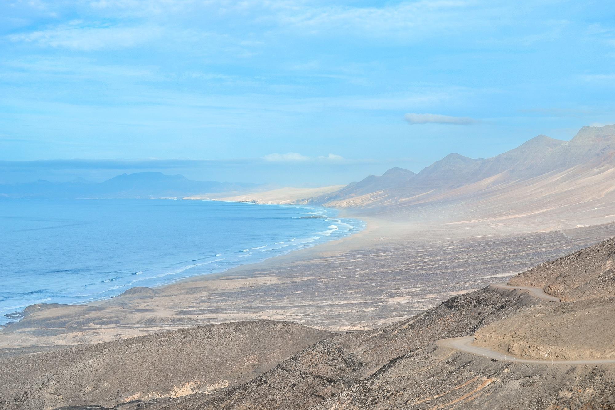 Parque natural Jandia Fuerteventura