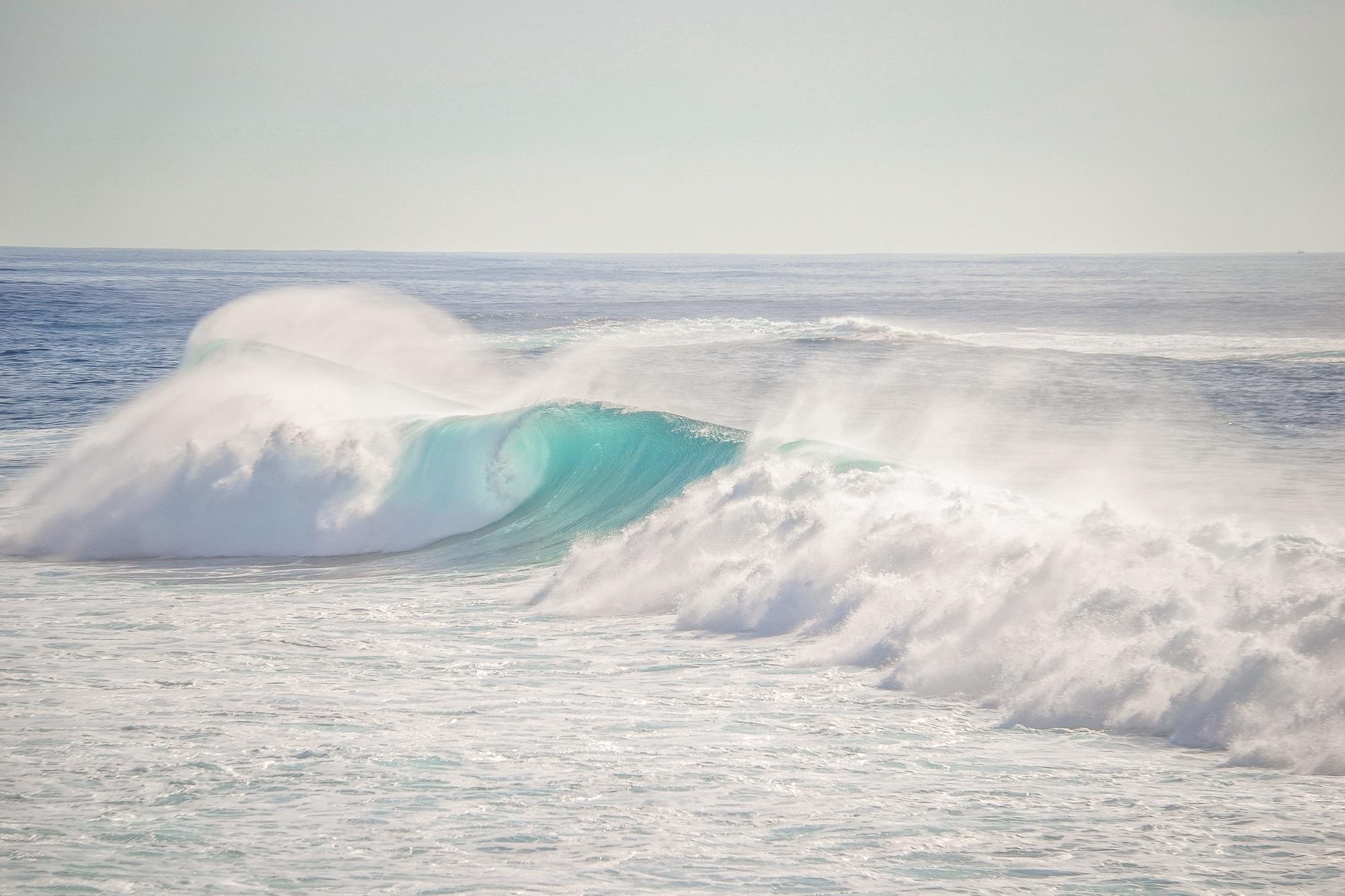Wellen am Aussichtspunkt Punta Jandia auf Fuerteventura