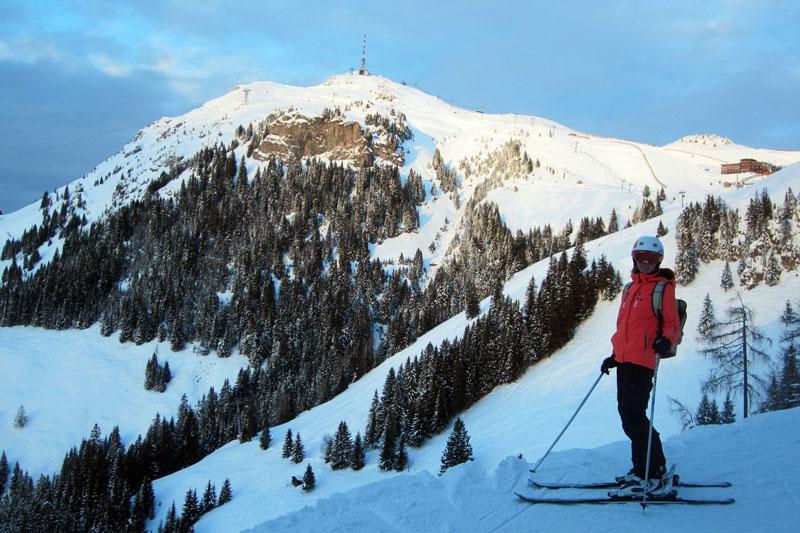 Skifahren in St Johann in Tirol