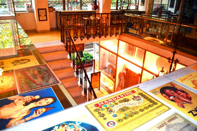 Das Orea Hellas ist Café, Kunstausstellung und Museum in einem