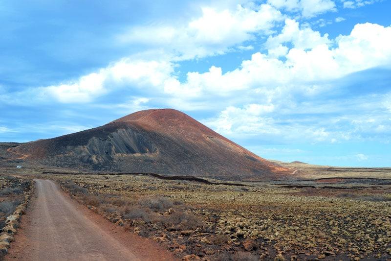 El Colorado Vulkan auf Fuerteventura