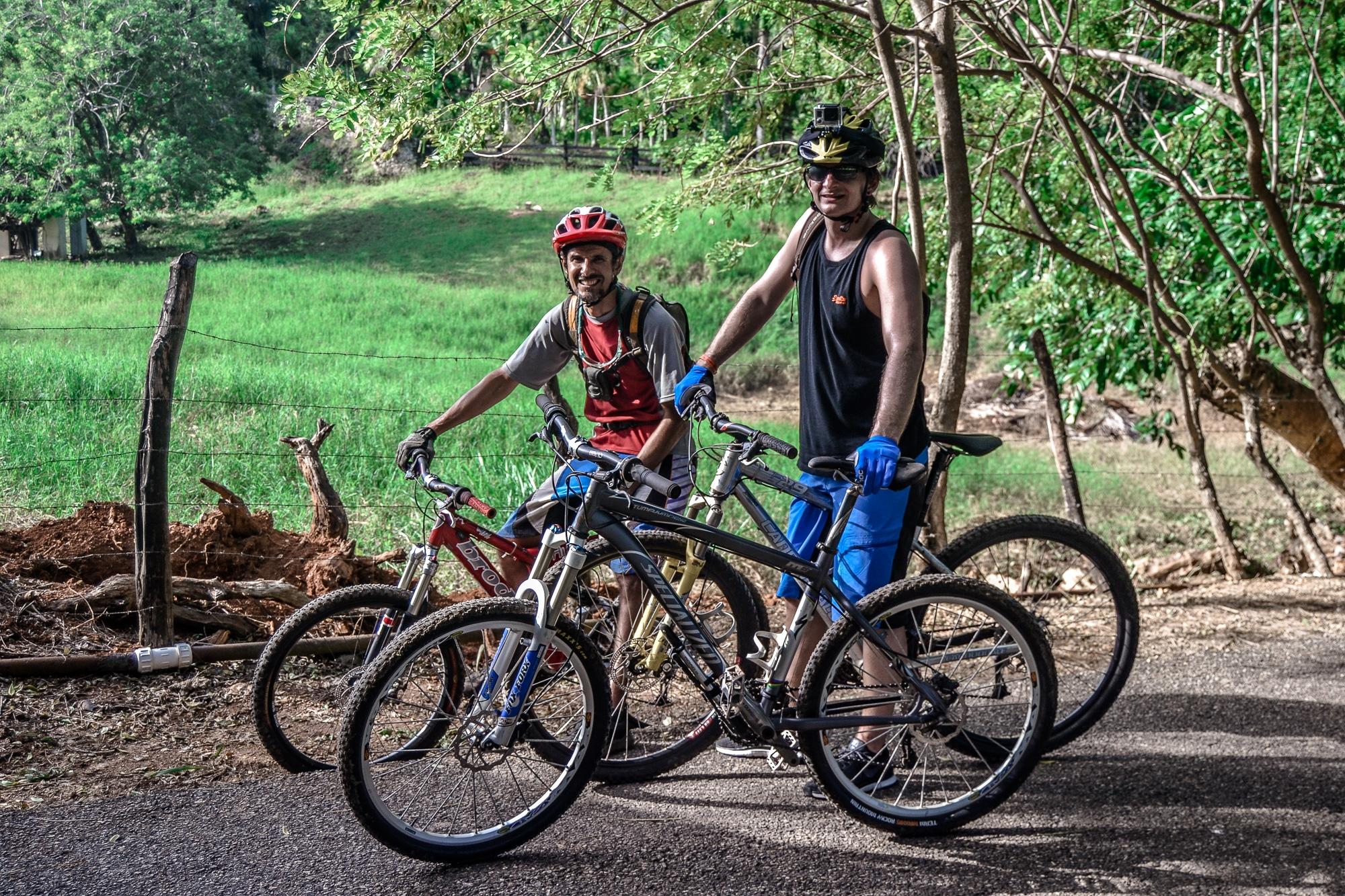 Mountainbiken in Cabarete in der Dominikanischen Republik