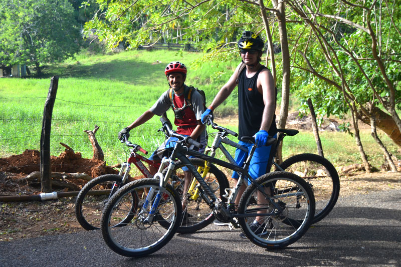 Mountainbiken in Cabarete, Dominikanische Republik