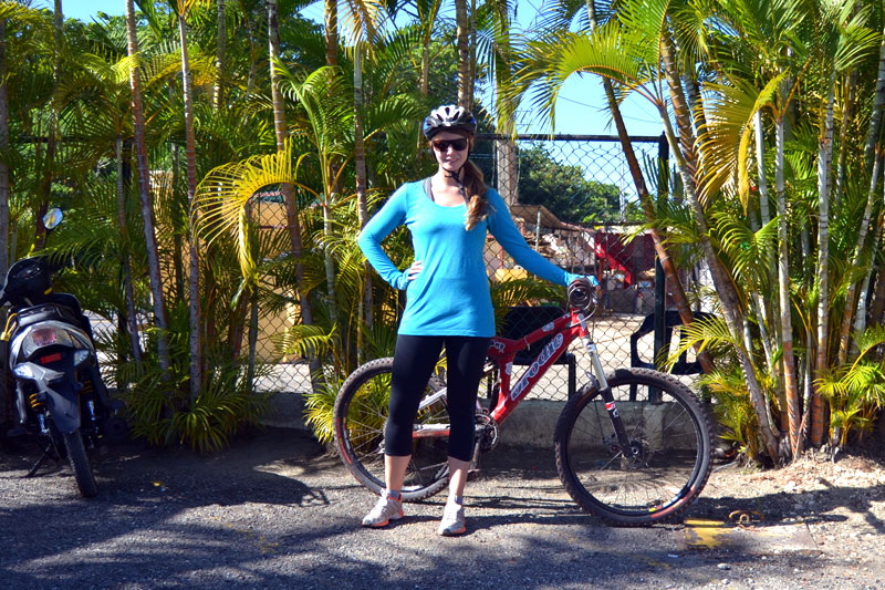 Fabletics Wonder Outfit im Test beim Mountainbiken