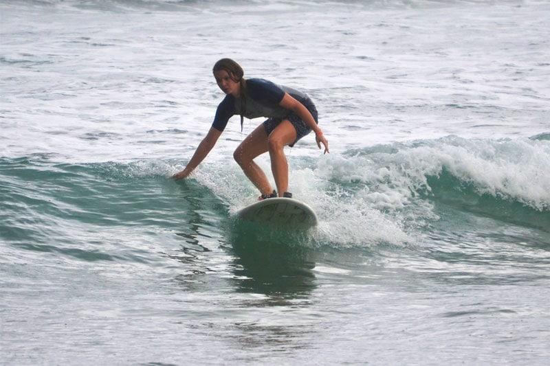 Surfen am Playa Encuentro bei Cabarete