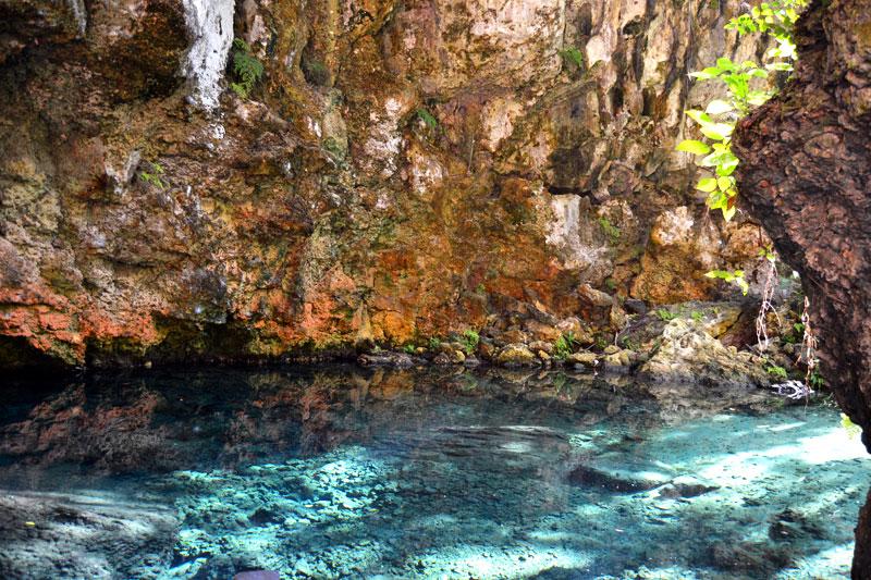 Blue Lake im Norden der Dominikanischen Republik
