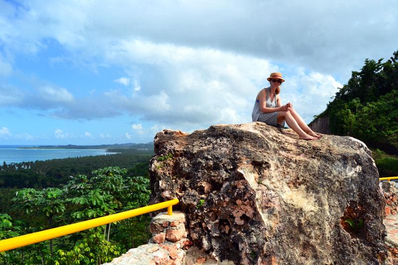 Hamsterrad: Dominikanische Republik Blick auf die Halbinsel Samana