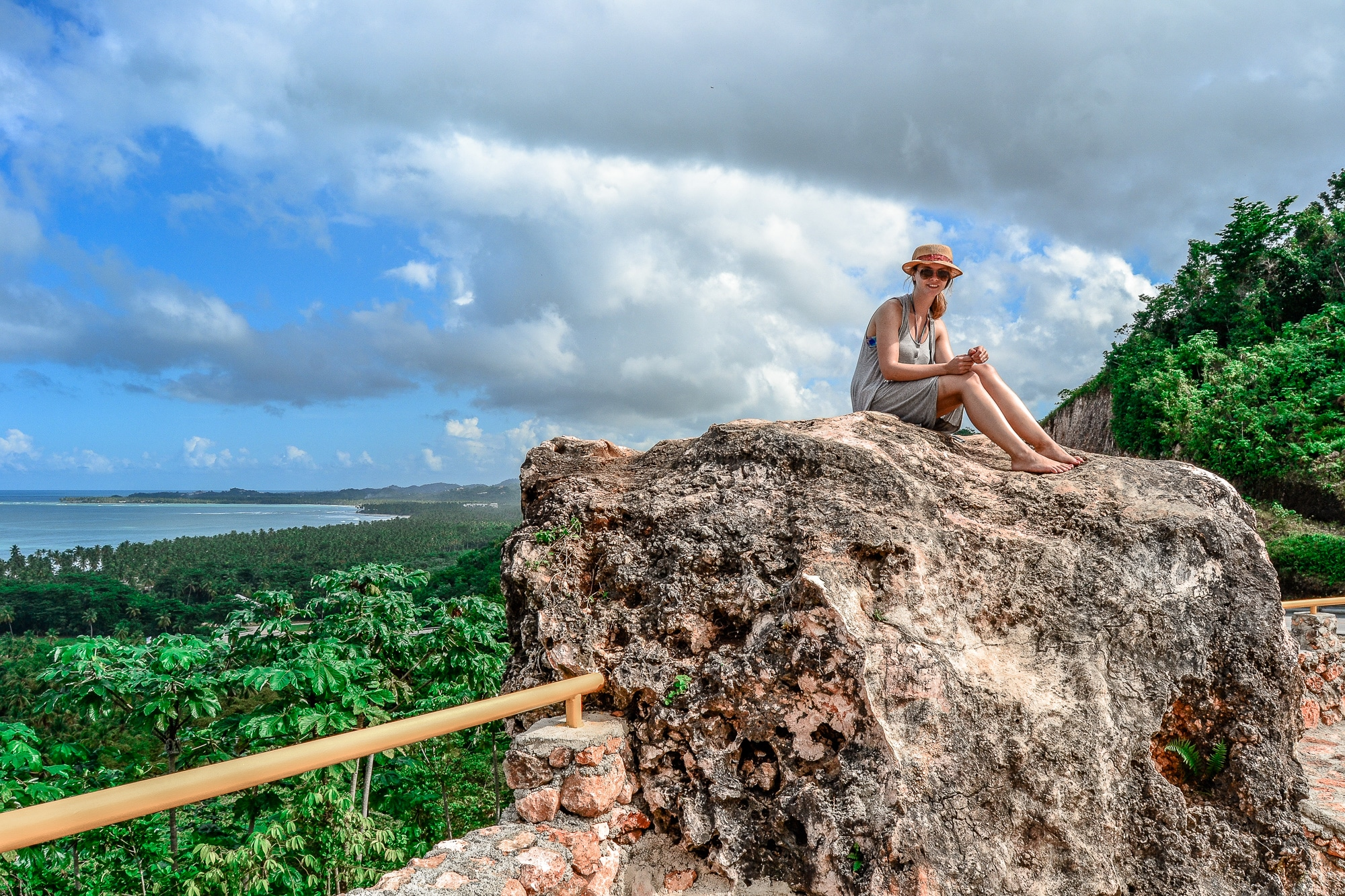 Playa Grande auf der Halbinsel Samana, Dominikanische Republik