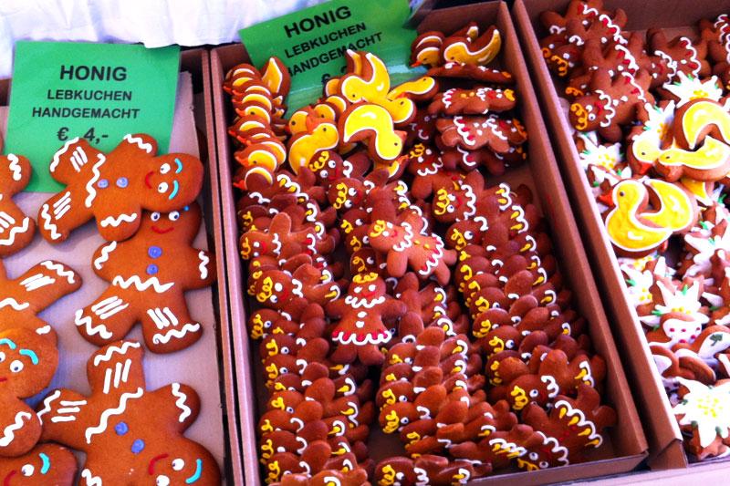 Alter Markt in Salzburg Lebkuchen