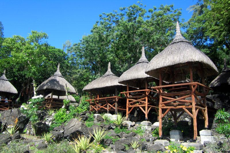 Reisetipps für Verliebte: Restaurant auf der Ile aux cerfs, Mauritius