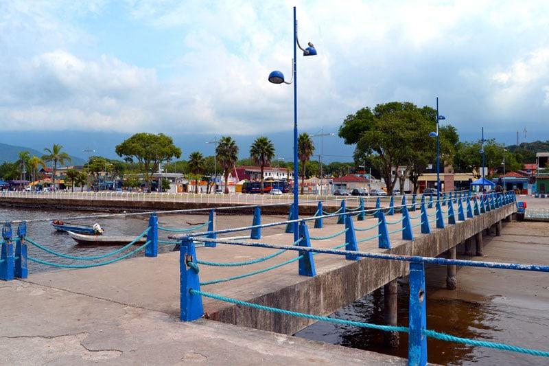 Hafen von Bertioga bei Sao Paulo, Brasilien