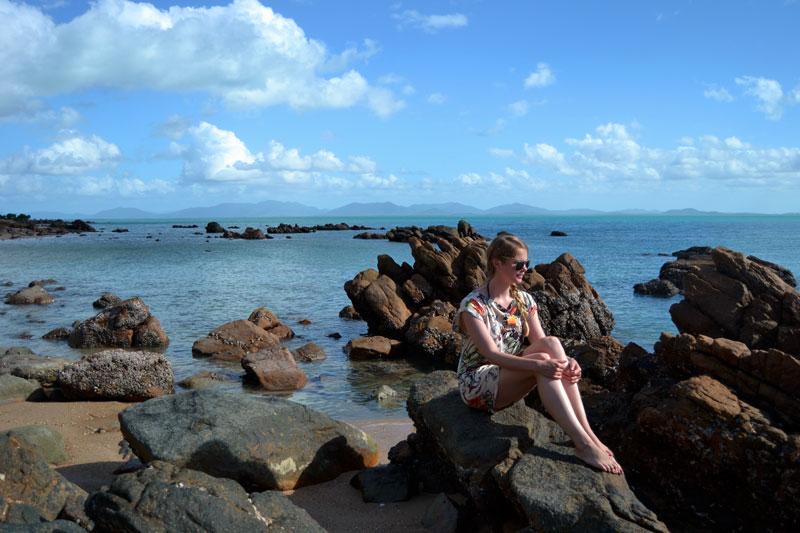 Küste vor Airlie Beach, Australien