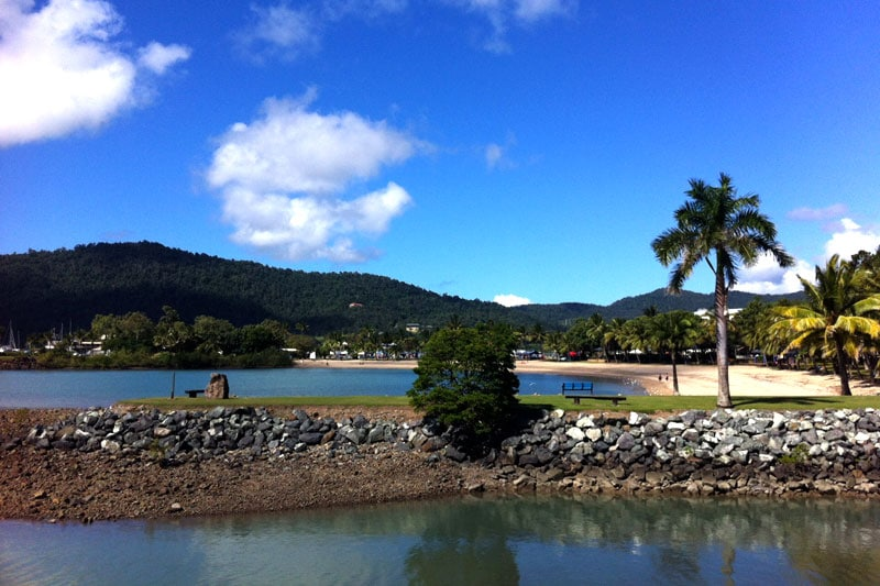 Airlie Beach in Queensland, Australien