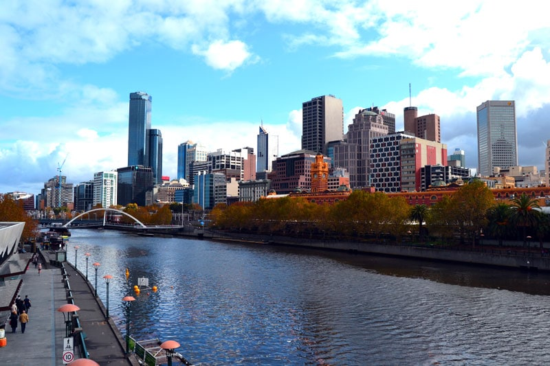 Australien Brisbane River