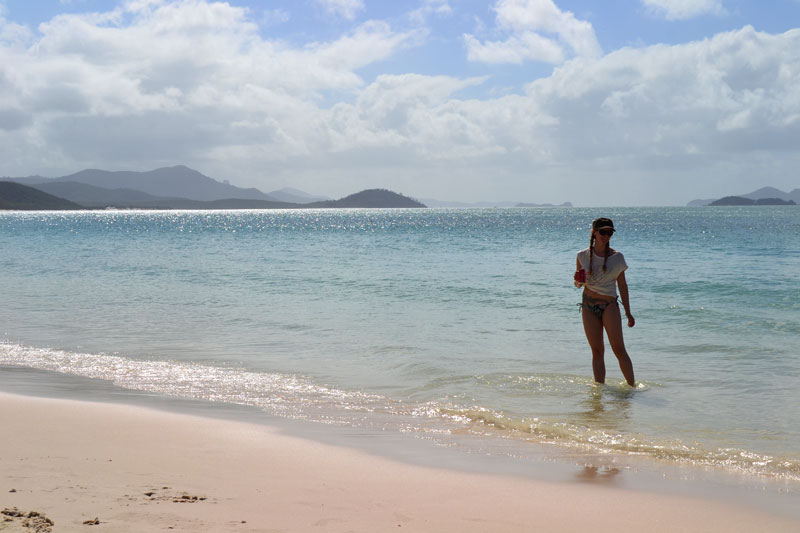 Whitehaven Beach auf Whitsunday Island