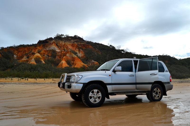 Jeep Safari auf Fraser Island, Australien