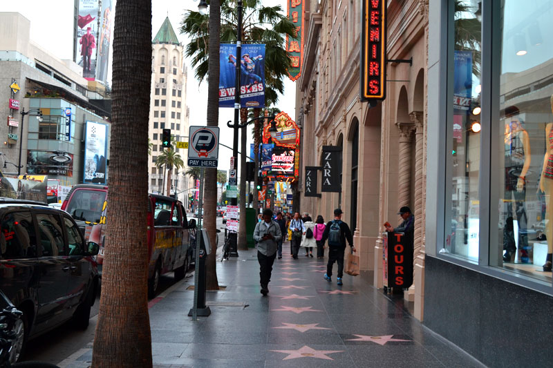 Walk of Fame in Hollywood, Los Angeles